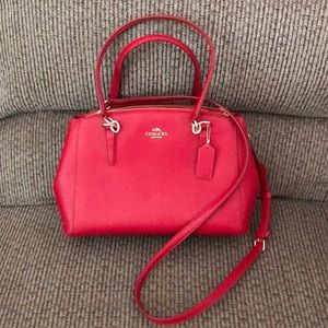 COACH - SMALL CHRISTIE CARRYALL